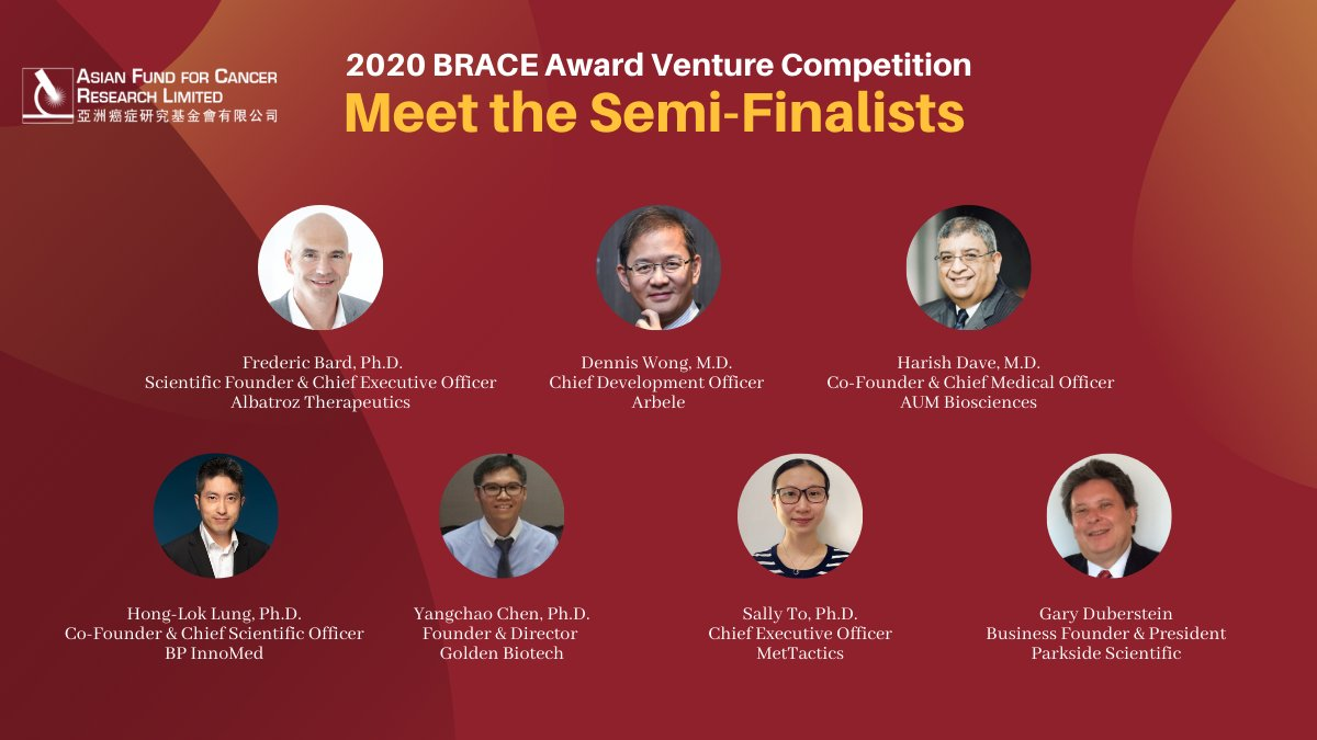 Meet our semi-finalists and learn about their innovative oncology technology that has potential to save lives! Don't forget to pick your favorite video clip and vote for the company to be the best communicator by 5 November 2020.  Vote now: https://t.co/iLkPc7n5o8  #cancer #award https://t.co/GuxHBpuMGm