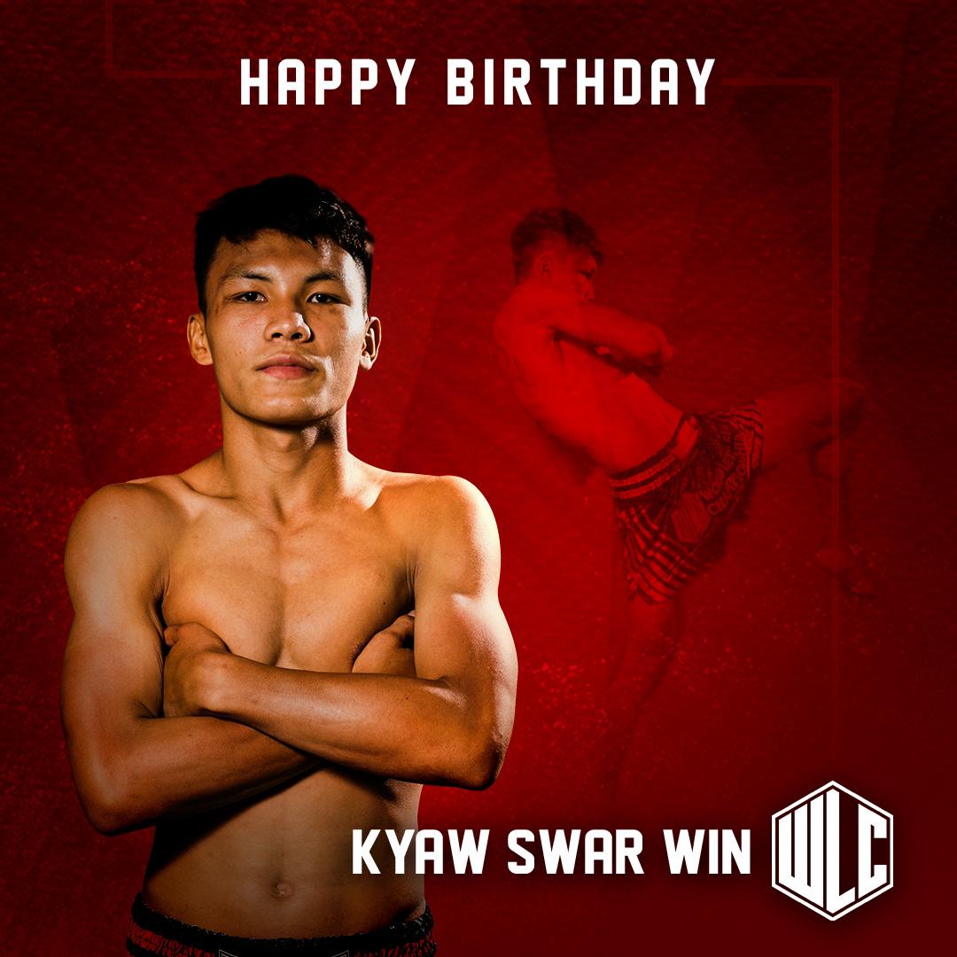 Happy Birthday to A Young Lethwei star - Kyaw Swar Win  #KyawSwarWin #FearlessTigers #WorldOfLETHWEI #WLCisBack #WeLoveWLC #NineLimbs #Myanmar #WLC #WorldLethweiChampionship #Lethwei #Headbutts #Bareknuckle #Kickboxing #BareknuckleBoxing #MyanmarFight #MyanmarBoxing #Yangon https://t.co/9AL4oybHyK
