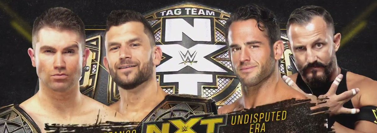 Dans cet épisode de WWE NXT du 21 octobre 2020, Breezango défendent leur titre par équipe contre Undisputed Era... Ou pas. Quels sont les résultats ? https://t.co/d6rChs0VIM #WWENXT #WWE #catch https://t.co/UK9HRBT7VO