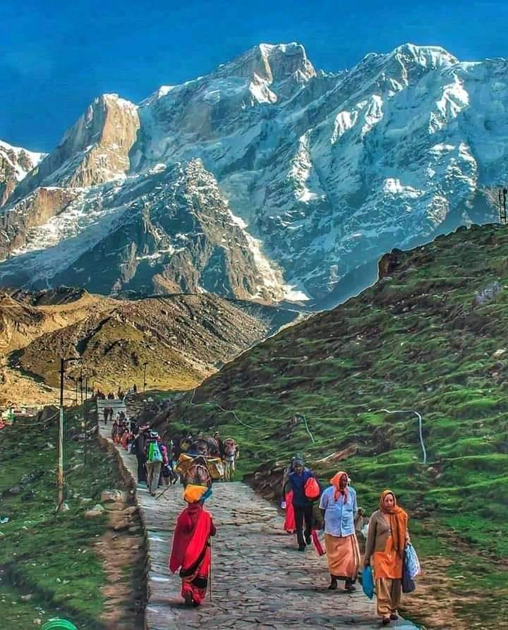 The path may be difficult but the destination is Divine and Blissful.  Kedarnath trek natural,tranquil &  serene. https://t.co/dEusRDTHNn