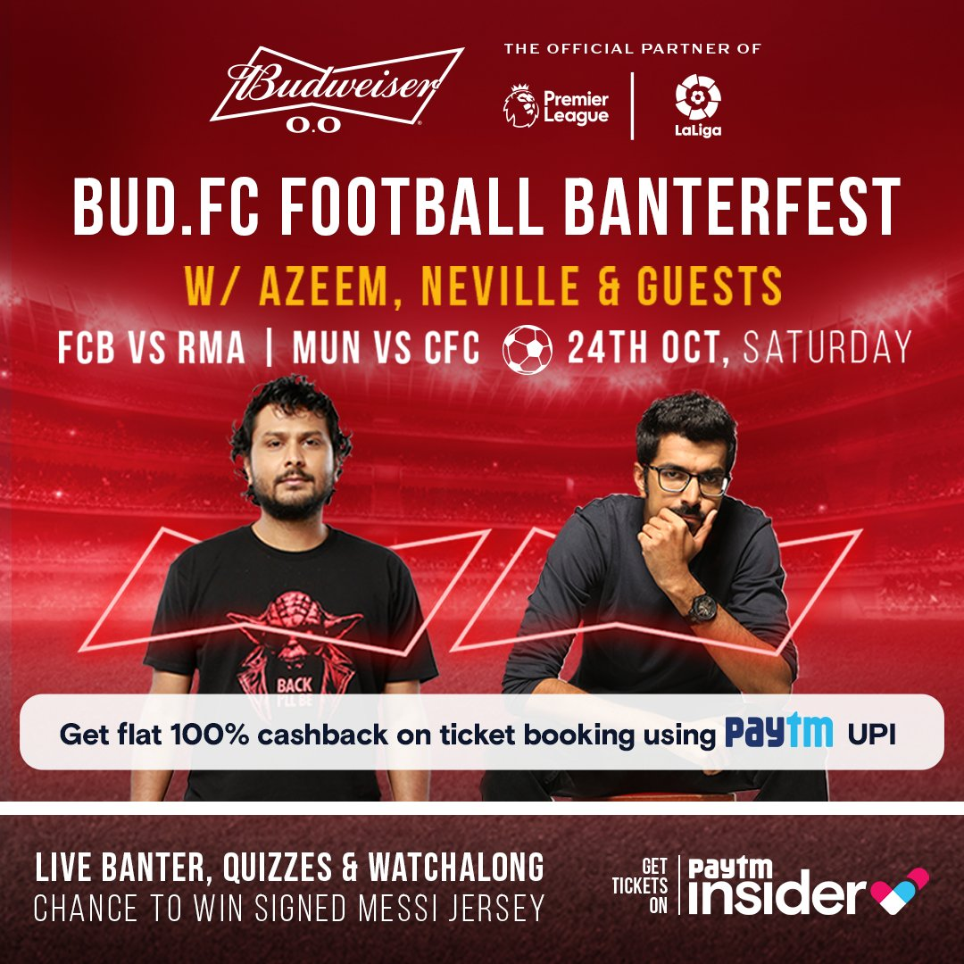 Miss watching football with your buds? Miss the banter, the chants, the cheers? We've got you! @TheBanat & @craziebawa are inviting their friends for some match day banter, quizzes, watch parties and more at Bud.FC Football Banterfest. You should join too: https://t.co/RsU9UXG5Qk https://t.co/lHHBPnZQjh