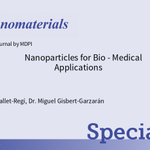 "Image for the Tweet beginning: 🥳New Special Issue ""Nanoparticles for"
