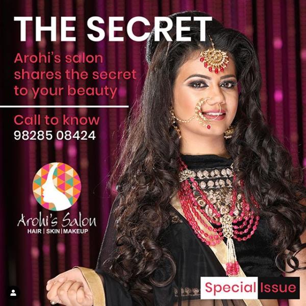 make-up by Sukanksha Gupta  #sukanshagupta #arohissalon #makeup #beauty #nails #nailart #hairstyle #skincare #skin #haircare #vaishalinagar #imliphatak #chitrakoot #jaipurmakeup #bridalmakeup  https://t.co/7rNHTW7TPo https://t.co/iV7vIev3Ot  Ph. No. : 0141-4107928,9828508424 https://t.co/JdPCEdZmka