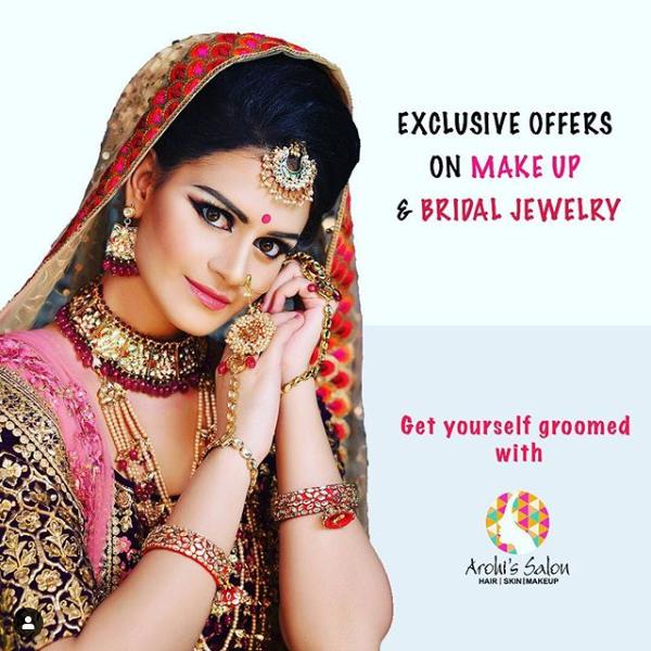 make-up by Sukanksha Gupta  #sukanshagupta #arohissalon #makeup #beauty #nails #nailart #hairstyle #skincare #skin #haircare #vaishalinagar #imliphatak #chitrakoot #jaipurmakeup #bridalmakeup  https://t.co/7rNHTW7TPo https://t.co/iV7vIev3Ot  Ph. No. : 0141-4107928,9828508424 https://t.co/vTUm4Pqn0l