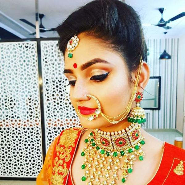 make-up by Sukanksha Gupta  #sukanshagupta #arohissalon #makeup #beauty #nails #nailart #hairstyle #skincare #skin #haircare #vaishalinagar #imliphatak #chitrakoot #jaipurmakeup #bridalmakeup  https://t.co/7rNHTW7TPo https://t.co/iV7vIev3Ot  Ph. No. : 0141-4107928,9828508424 https://t.co/glznTwlLGz