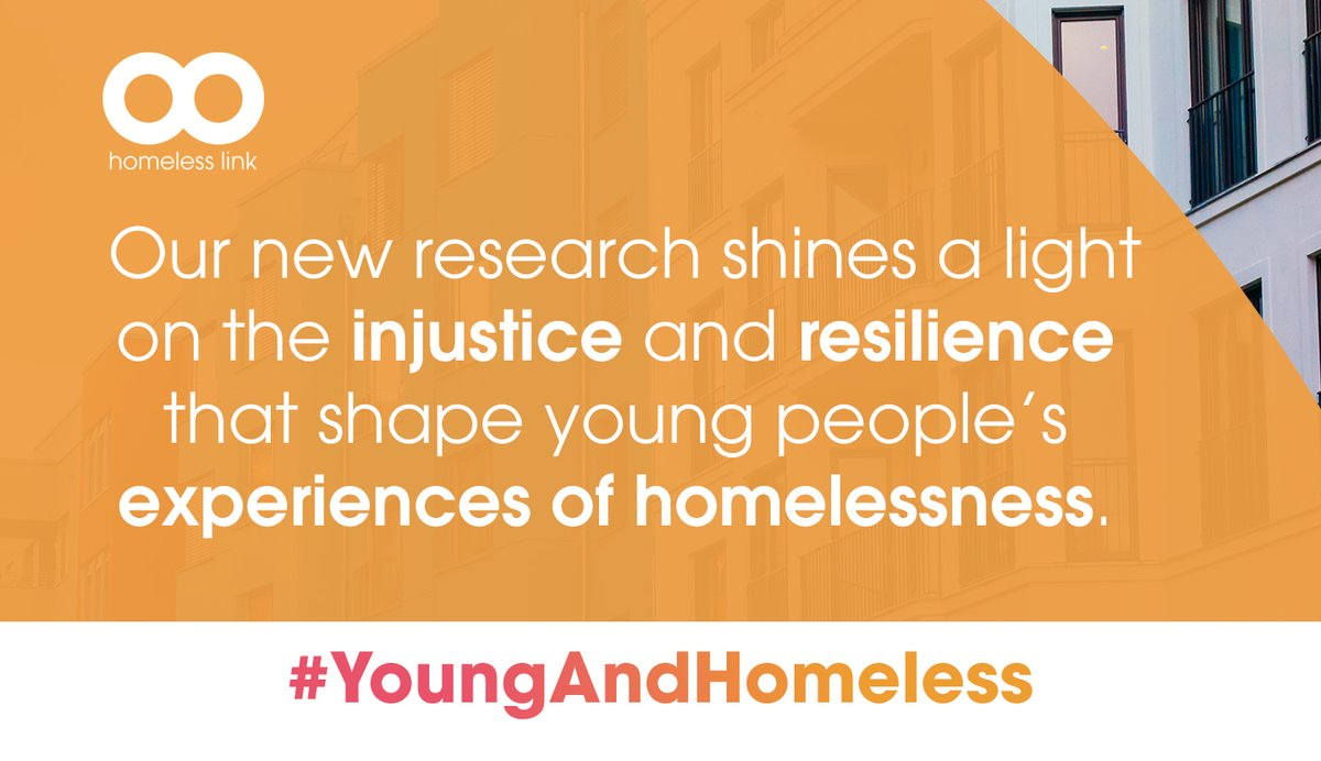 Co-producing the research with Youth Voice, in early 2020, Homeless Link's research team spoke with 45 young people across England about their experiences of homelessness, their aspirations and what helped them to navigate the challenges they faced. #YoungAndHomeless