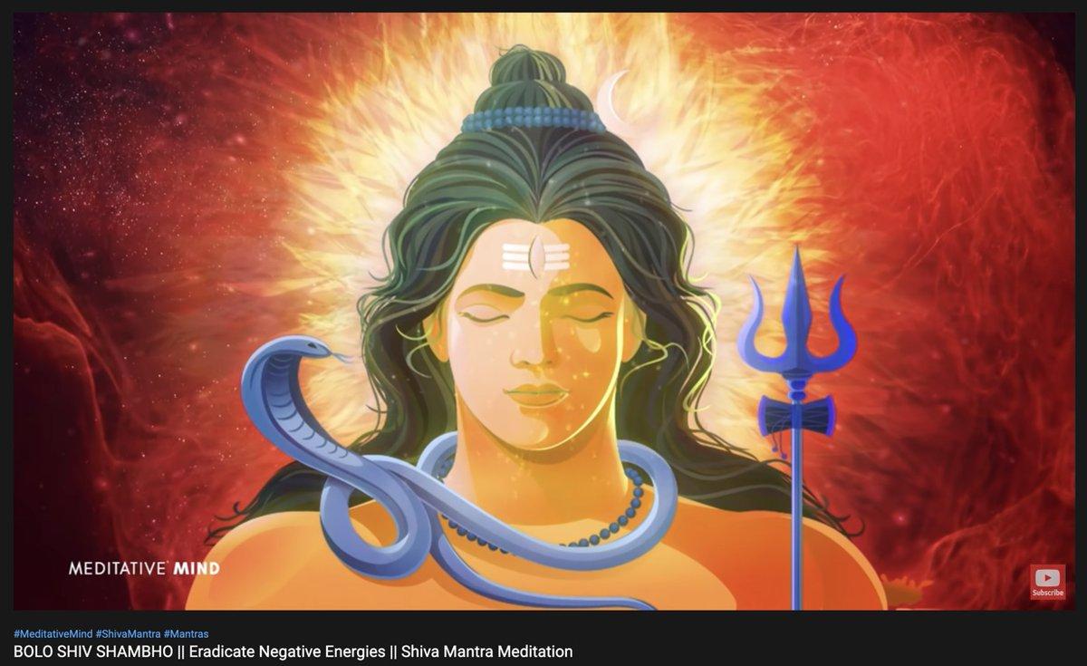 #Mahadev #LordShiva #Trance #playlist  Very very soothing and trance inducing.  Bolo Shiv Shiv Shiv Bolo Shiv Shambho  https://t.co/DWWqC8YoW0 https://t.co/49aVoyPKxN