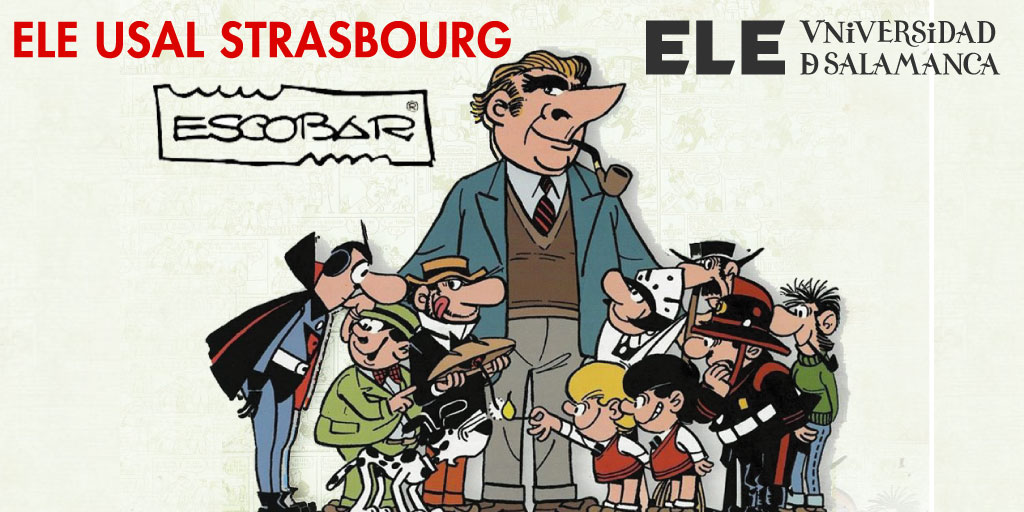 📆 #TalDíaComoHoy en 1908 nacía el dibujante Josep #Escobar, creador entre otros personajes del siempre hambriento Carpanta, de los traviesos gemelos Zipi y Zape y de la 'servil' Petra. #Strasbourg #Alsace #Unistra #France #GrandEst #Espagnol #Apprendreespagnol #learnspanish https://t.co/r1YRUo0rF2