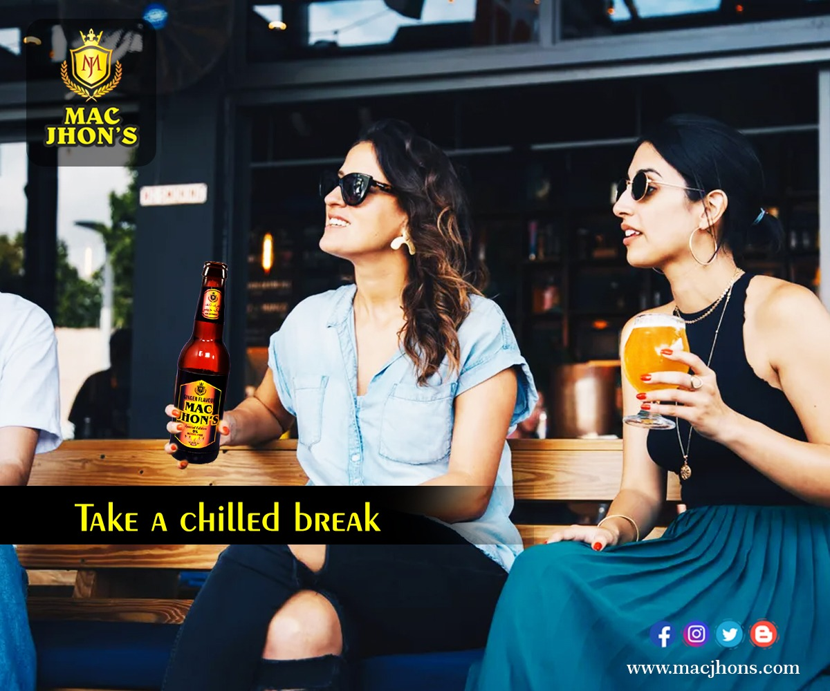 In this hectic situation, you need one chilled Mac Jhons break!! Wha do you say?   .  .  .  . #break #chilledvibes #chilling #mostneededbreak #macjhons #chilleddrinks https://t.co/XUCULMFty7