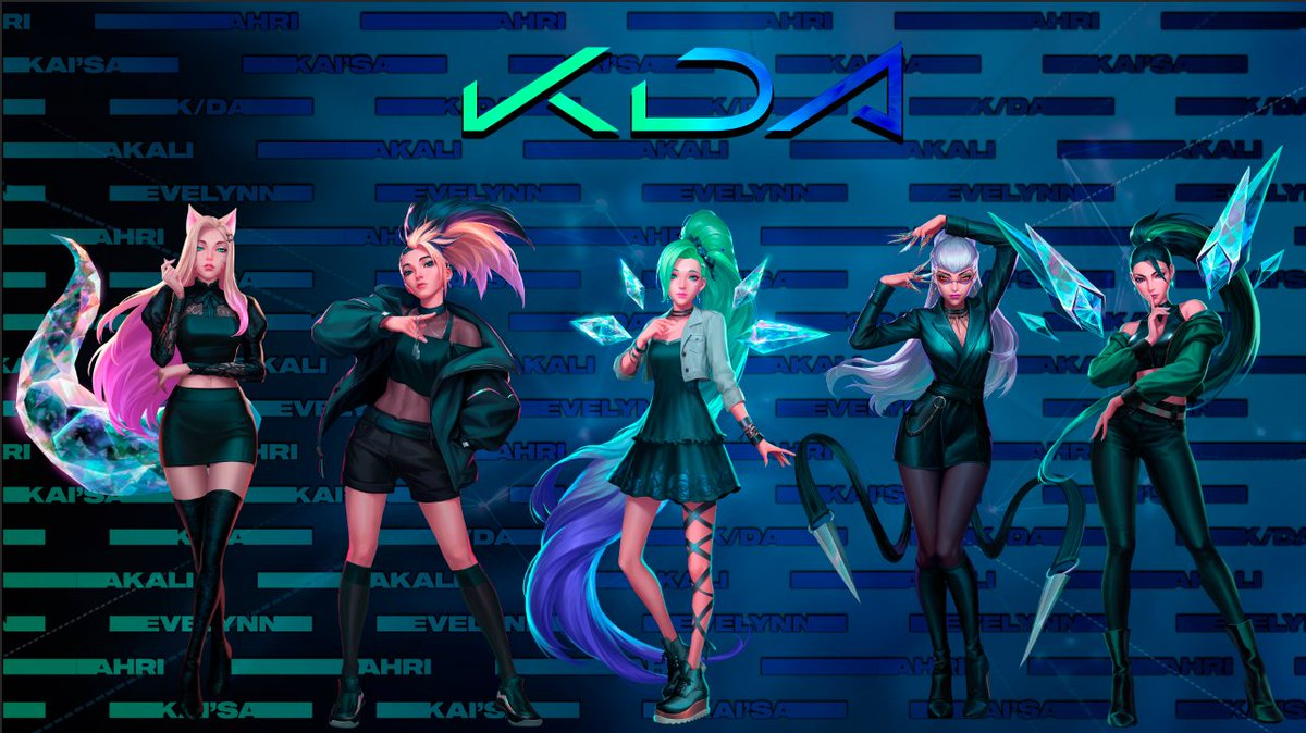 KatHitDelete - Got bored in class so i made this in like 20 minutes, not the greatest in the universe but i had fun atleast ✨  #KDA #KDAMORE #ALLOUT