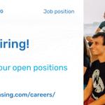 Image for the Tweet beginning: We're hiring! If you enjoy