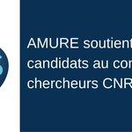 Image for the Tweet beginning: 🚩📣AMURE soutient les candidats au
