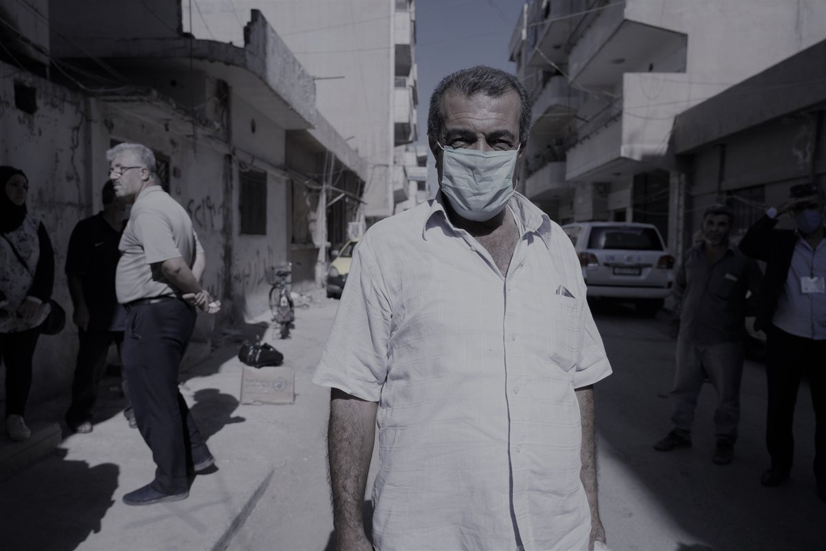 In the past I worked 6 - 7 hours a day. Now I work day & night in vain & I still cant support my family. Bassem is a taxi driver in NE #Syria. Soaring food prices & #COVID19 are putting Syrian families under unprecedented economic pressure. Basic foods are now beyond reach.