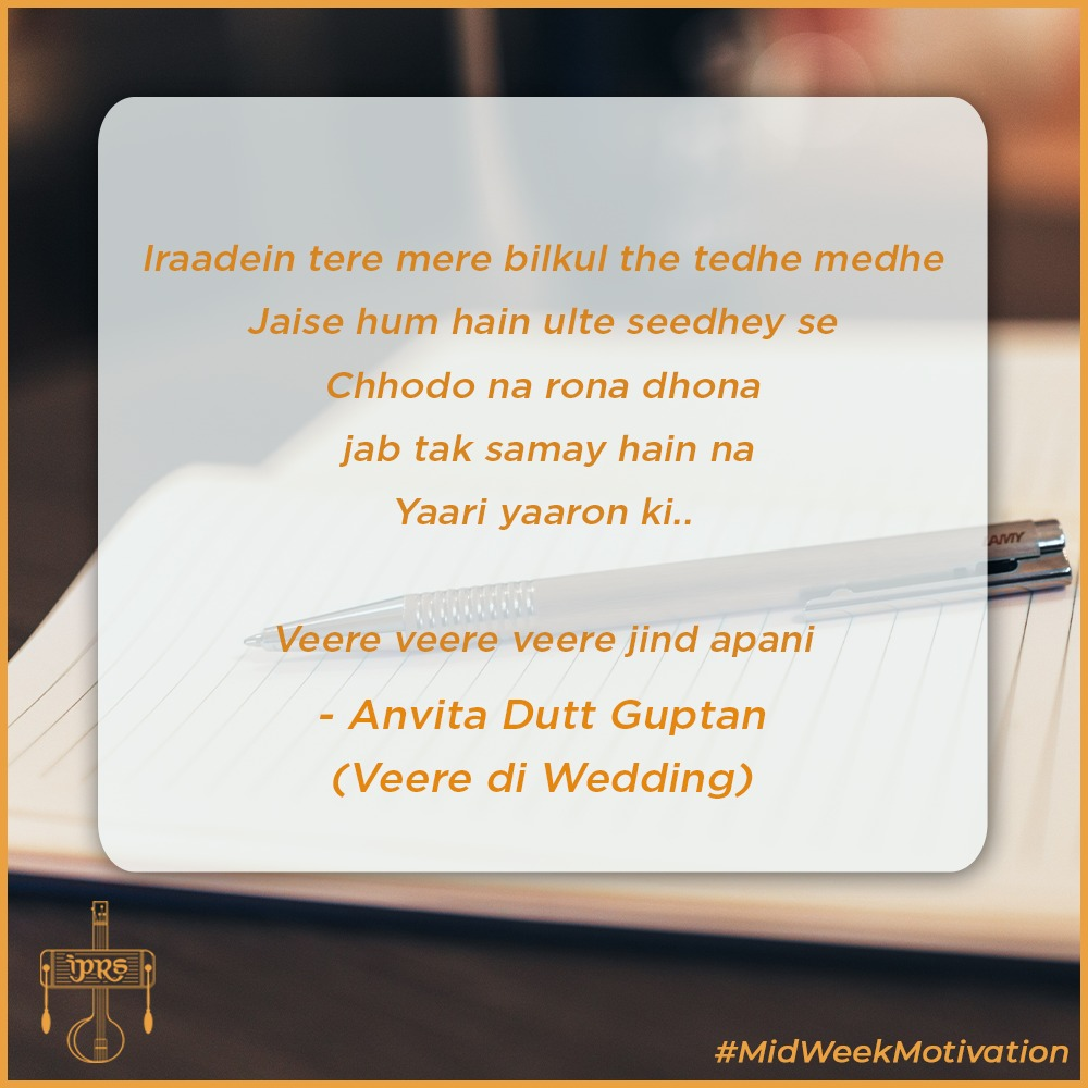 It's the week of Goddesses and we thought what would be better than to fuel you with these zesty words that depict the power of friendship in women, words that make a bond written by #AnvitaDutt.  #MidWeekMotivation https://t.co/1zqt6q5olK