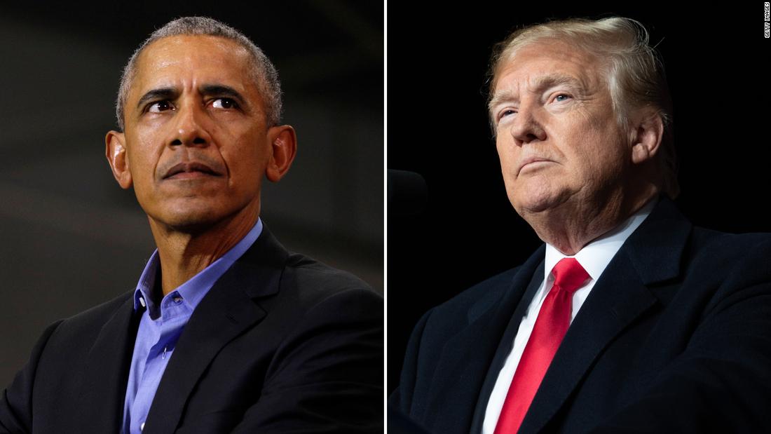 Obama delivers scathing rebuke of Trump before final debate   Analysis by @StCollinson cnn.it/3oj4ZfM