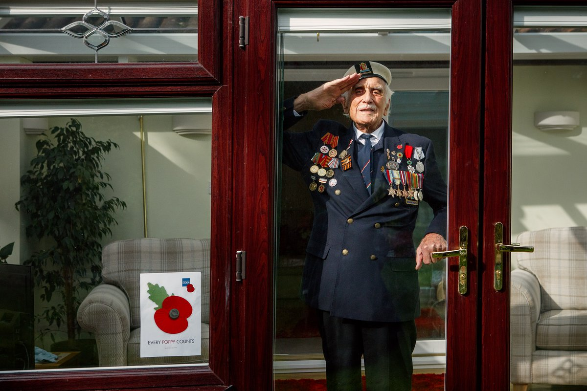 """I admire those who have been on the front line dealing with this terrible virus day-to-day, they have shown the same sense of duty that my generation did during the Second World War, they are the ones now protecting our society."""" Former Able seaman Seymour 'Bill' Taylor, 95."""