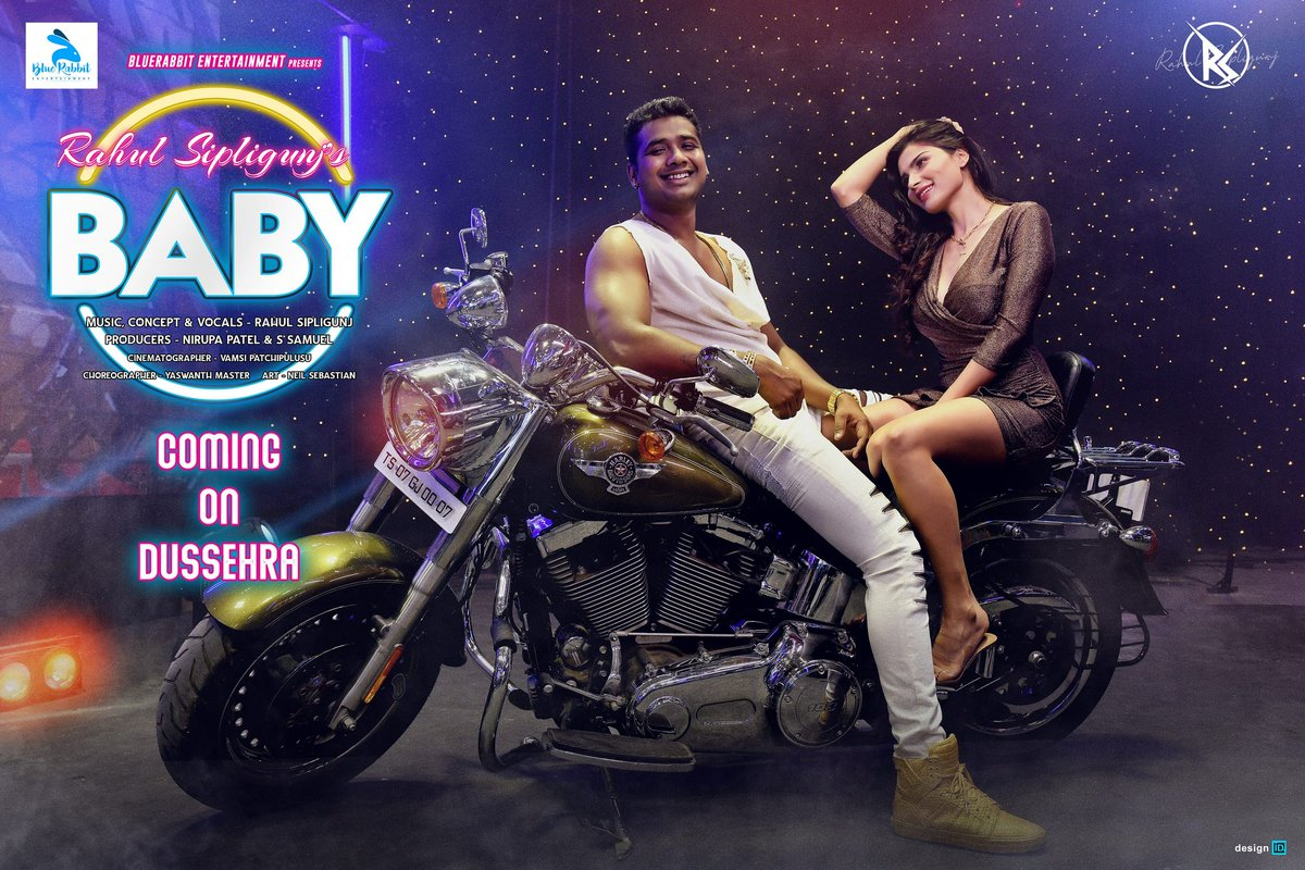 Excited for my #baby #mudicvideo! Get ready with your speakers  ek dham dhamaal! And guess who wrote lyrics for this video, Let me know in comments! Will announce it tomorrow @bluerabbitent @nirupa164 @sanjnasinghofficial @neilsebastian90 @yashwanthmaster @vamsipatchipulusu https://t.co/77XB5nmK9r