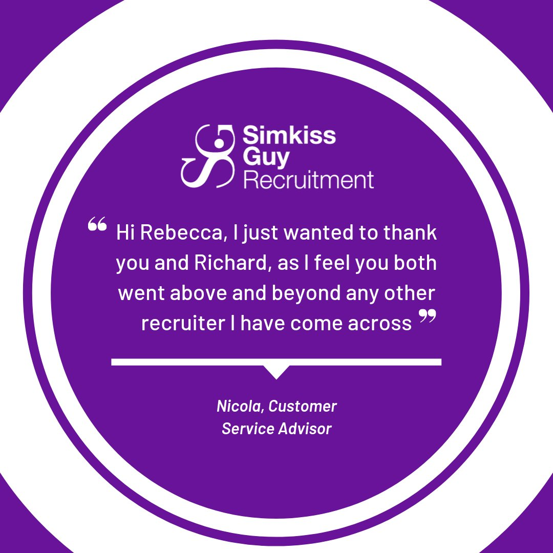 We love hearing from our satisfied candidates and clients! simkissguy.com/testimonials/