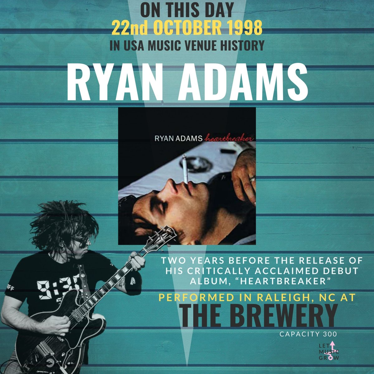 @TheRyanAdams #letmusicgrow #letthemusicplay #wemakeevents #saveourvenues #saveourstages #NIVA #MusicVenueTrust #fyp #onthisday #newmusic #follow #song #independentartist #like #indie #instagood #pop #studio #guitar #repost #indieartist #explore #musicislife #ryanadams https://t.co/gHBL8NNytb