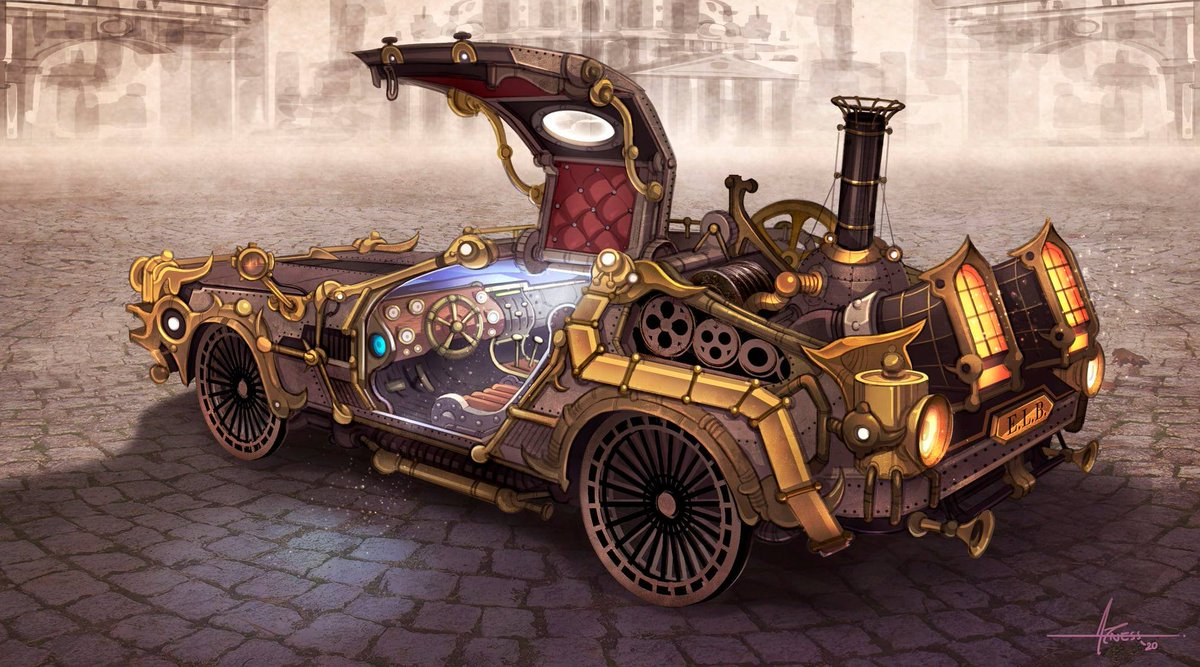 My Daily #Steampunk ⚙️ #Geek 🤓 #Space 🚀 #SamaCollection 🗞️ of Tweets with @maximaxoo @danielmarcoart ⭐ Feat. @jfcarpio View More Selections 👉 https://t.co/iLWqTUIbYx