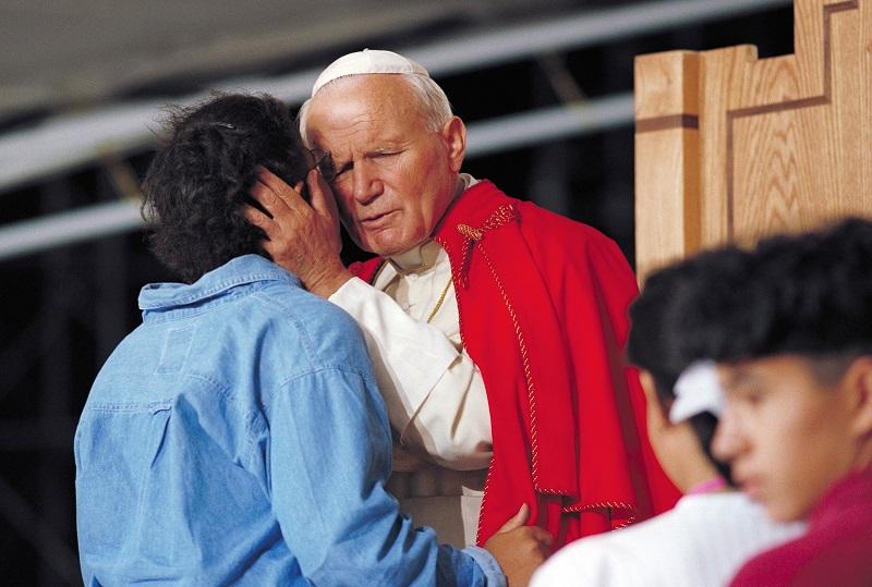 Today the Vatican II Sect celebrates Karol the Koran Kisser.