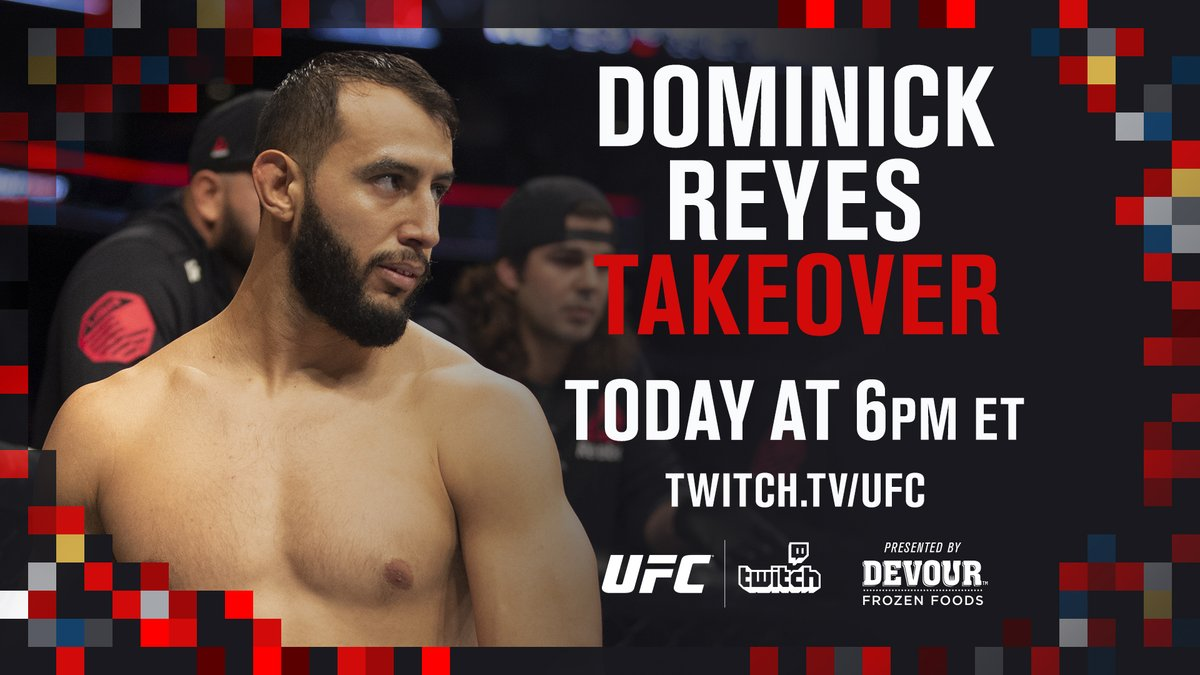 Tune in 🎮 @DomReyes is live on Twitch at the top of the hour.  ➡️ https://t.co/f2WqbEC0bp [ B2YB @DevourFoods ] https://t.co/9lc7fNVTTn
