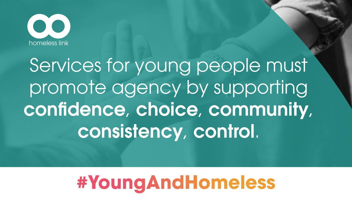 Our report makes a number of recommendations to Government in order to safeguard the aspirations and unlock the potential of young people who are currently living in insecurity and fear. #YoungAndHomeless