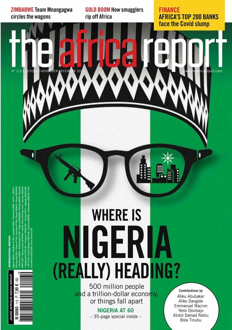 Copertine d'impatto: @TheAfricaReport