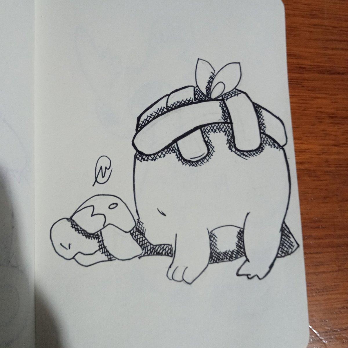 Day 22 Chef #art #arte #artbook #sketchbook #sketch #doodle #dibujo #drawing #traditionalart #markers #rotuladores #boligrafo #pen #tinta #ink #inktober2020 #pokemon #appletun https://t.co/0YMKazlQdA