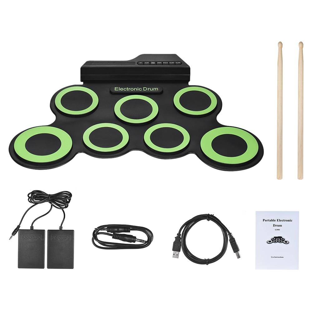 #instamusic #beats Portable Silicone Electronic Drums Set https://t.co/WuTc00T8DR https://t.co/ZJTyXYbr4n
