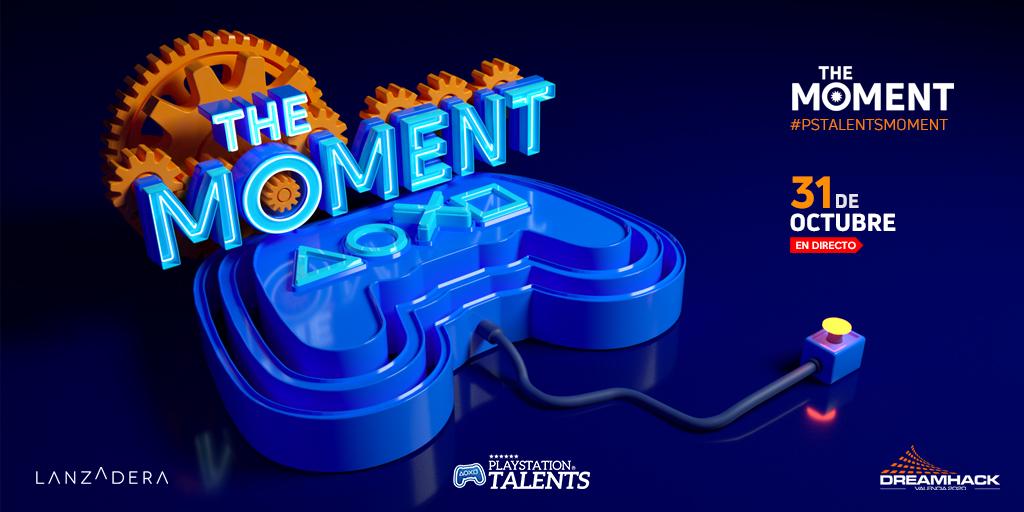 📢¡Atención!📢 31 de Octubre a las 18h PlayStation Talents: The Moment  Un evento donde mostraremos los títulos de #PSTalents: gameplays, fechas, anuncios y ¡por fin! los finalistas de los VII #PremiosPlayStation, junto a @DreamHackSpain y @lanzaderaes.  #PSTALENTSMOMENT #DHVAL20 https://t.co/BOnzhgIaR7
