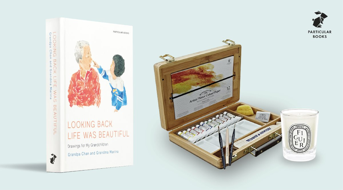 To celebrate the release of Looking Back Life Was Beautiful, we've teamed up with @gransnet to giveaway a luxury watercolour set, @diptyqueparis candle and the beautiful hardback 🎨 If you want to get creative on these long, October evenings, enter here: gransnet.com/competitions/2…