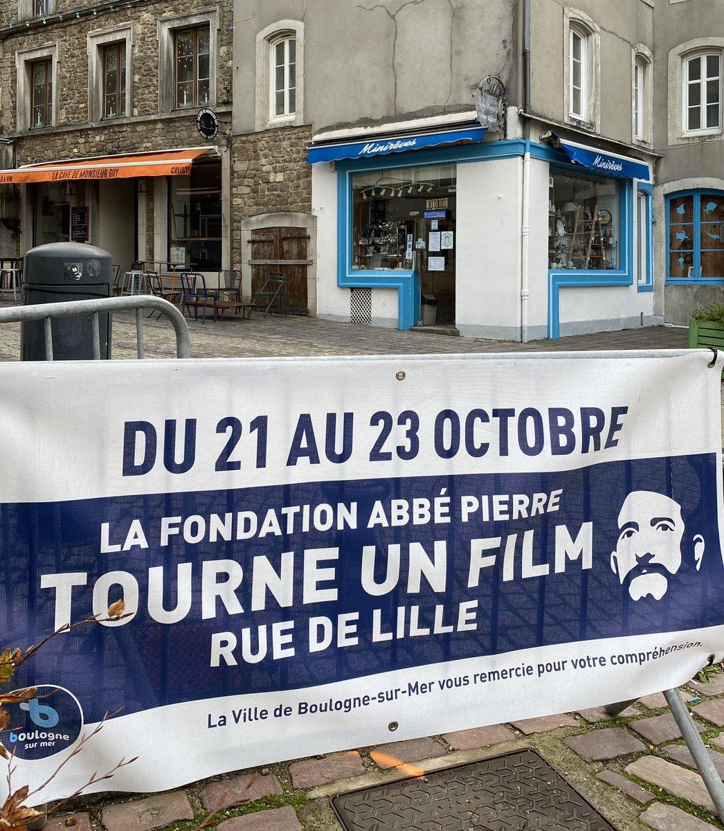 Un grand merci aux boulonnaises et aux boulonnais ainsi qu'à la @Ville_Boulogne pour l'accueil chaleureux réservé à la Fondation @Abbe_Pierre !