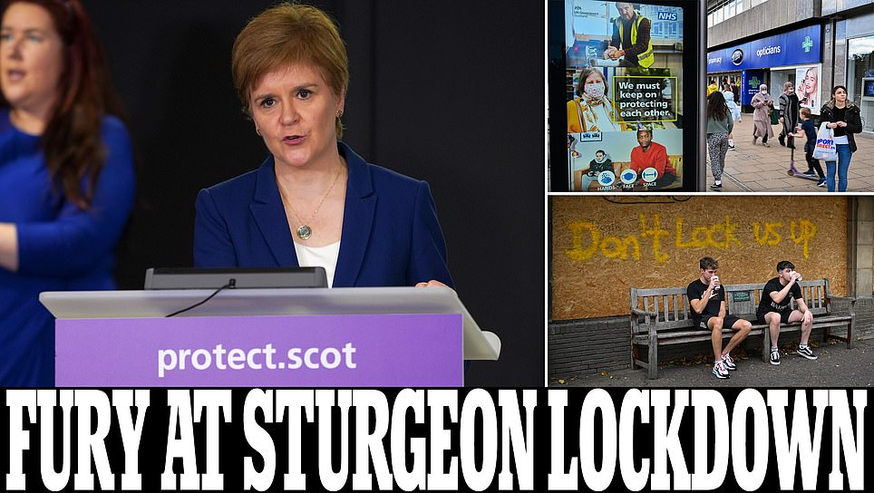 Nicola Sturgeon faces backlash over plan for 'indefinite' five-tier system of restrictions trib.al/dlIFdXB