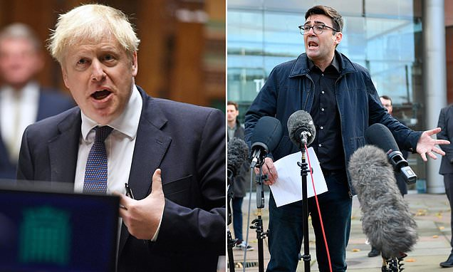 SIMON WALTERS: Why blustering Boris Johnson HAD to call grandstanding Andy Burnham's bluff trib.al/2kKewoc