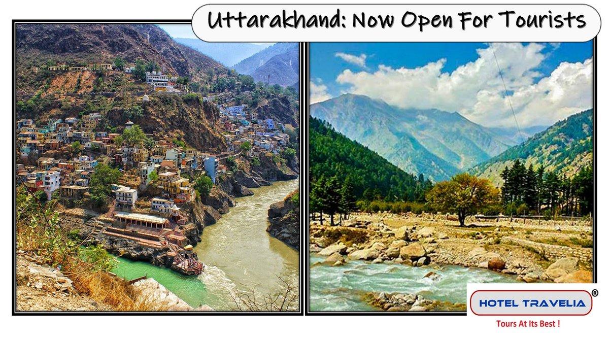 #Uttarakhand: Now Open For #Tourists #Dehradun #Nainital #Haridwar #Almora #Bageshwar #Chamoli #Champawat #Pauri #Pithoragarh #Rudraprayag #Tehri #Udham Singh Nagar #Uttarkashi #ExploreIndia #Travel #Vacation #IncredibleIndia #Honeymoon #Beach #Temple https://t.co/jGMBw3Ewpy