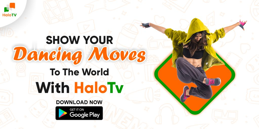 Show Your Dancing Moves To The World With HaloTv  Download App - https://t.co/aBZgp3V59u  #HaloTv #videoapp #shortvideo #statusvideo #earnwithhalotv #earnmoneyonline #Dance #Dancevideo #Dancing #whatsappstatus #indianapp #socialapp #boycottchina #Helo https://t.co/koOLYg1B7a