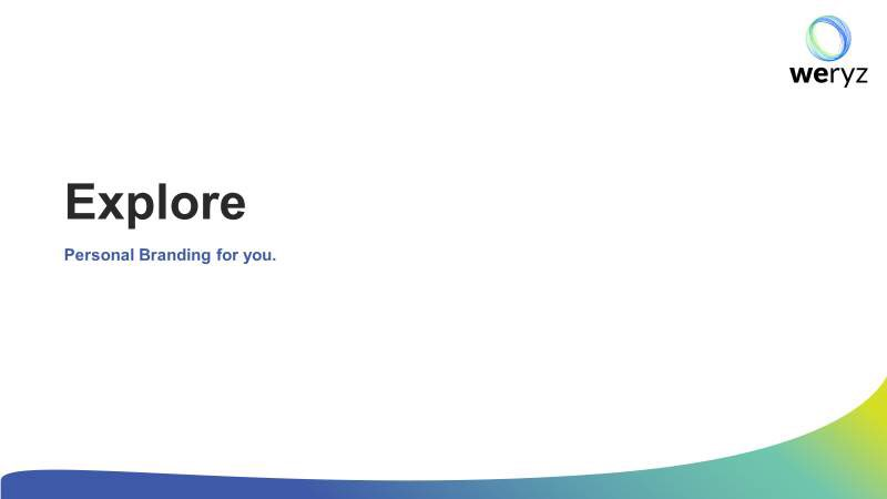 Partner with 'weryz' to Discover Explore Engage #leadership #business #entrepreneur #personalbranding #storytelling #communication #Values #persona #brand #socialmediamarketing #culture #personaldevelopment #brandbuilding #weryz #stellarsearch @stellarsearch12 @stellarsearch https://t.co/b6N8ybmTrL