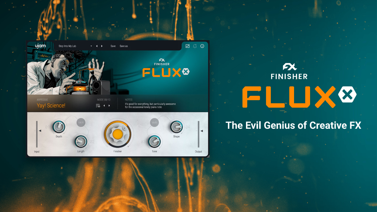 Unshackle your mad scientist with Finisher FLUXX. Try our evil genius of creative FX now for free!  https://t.co/MrXvyVhCiE  #finisher #creativefx #sounddesigner #releaseday https://t.co/IfhtgeydtW