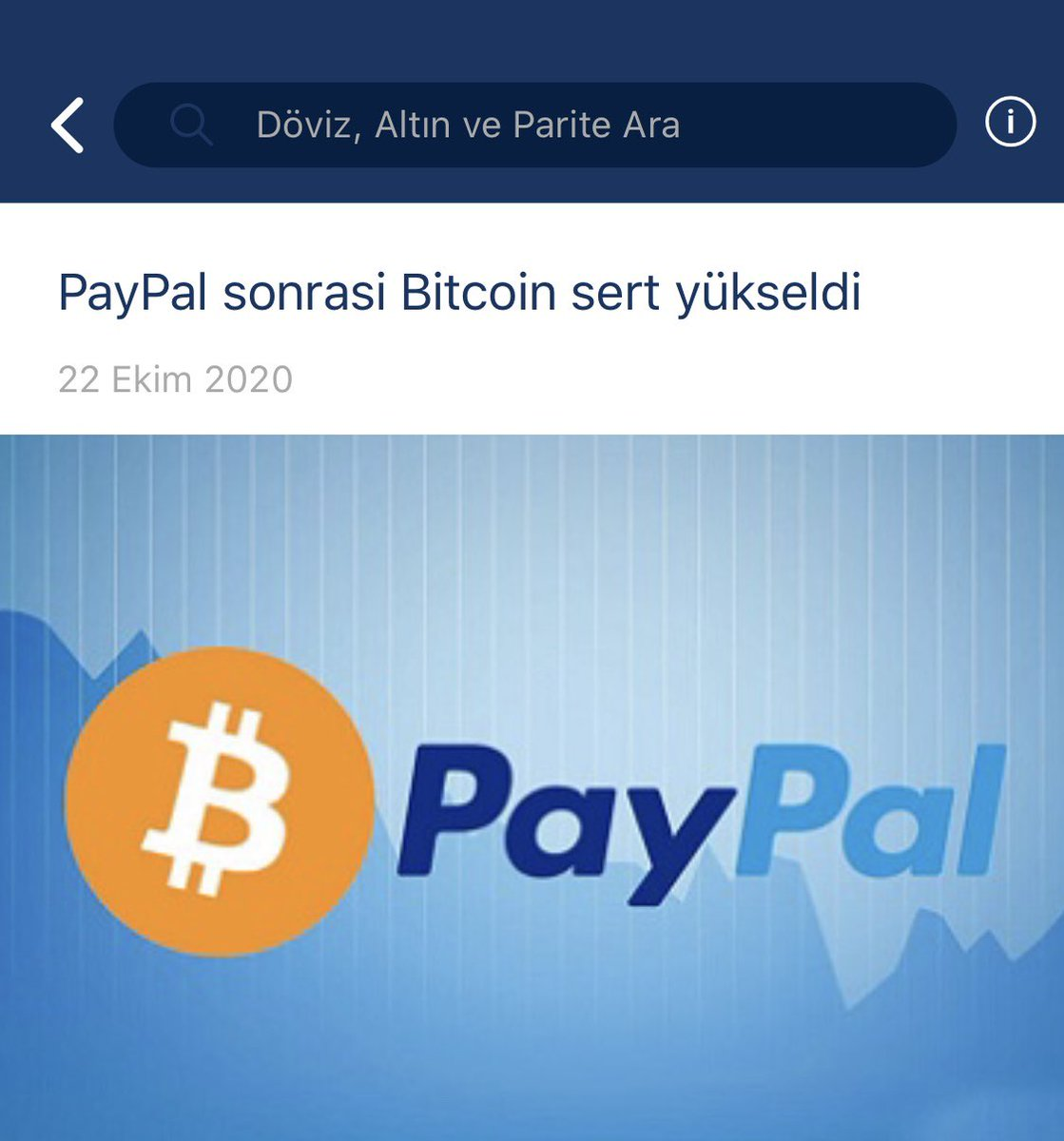 PayPal'da yeni ödeme devri başlıyor. Haberin devamı için >>> https://t.co/IxOEacI1Fb #paypal #coin #kriptopara #Bitcoin #cryptocurrencies #crypto #payments https://t.co/2UkNap2KZe