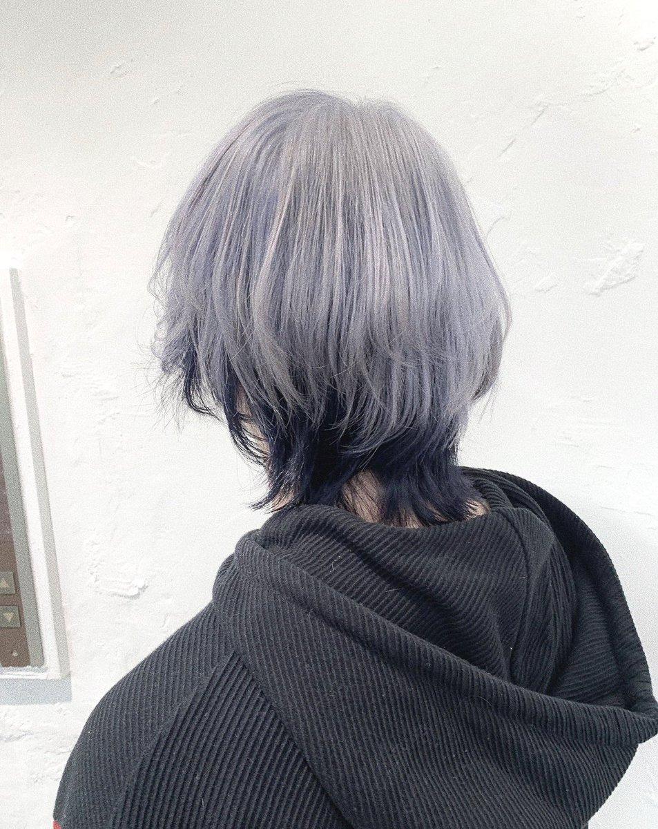 New Color ◡̈インナーカラーしてみました