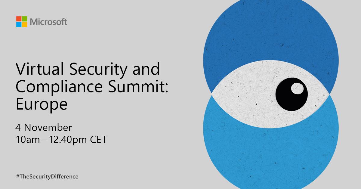 Höre dir an, wie führende SicherheitsexpertInnen die Herausforderungen für digitale Sicherheit und Compliance diskutieren. Mach dir auf unserem interaktiven Gipfel ein vollständiges Bild.  Hier teilnehmen: https://t.co/46hPIdE5Qh https://t.co/xyvLSfYAAN