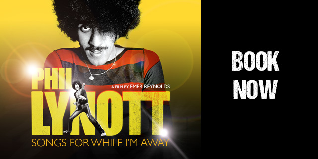The @docnrollfest premiere of Phil Lynott: Songs for While I'm Away has moved to 1 Nov 2020. If you already have a ticket, check your inbox for an email from SEE w/ all the info you need. If you want a ticket then you're in luck, as they're now on sale! 🤘 https://t.co/nK9BhmehRk https://t.co/pmL39OKTAc