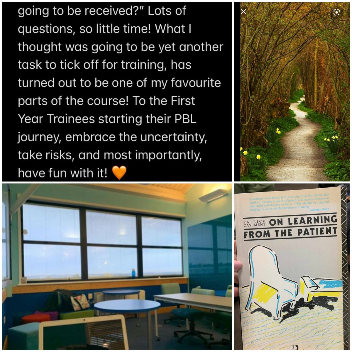 Hey, Cohort 19 here! We are getting involved in #ThrowbackThursday to share some of our memories from this time last year which marked our PBL formative presentations 🤗 1/4