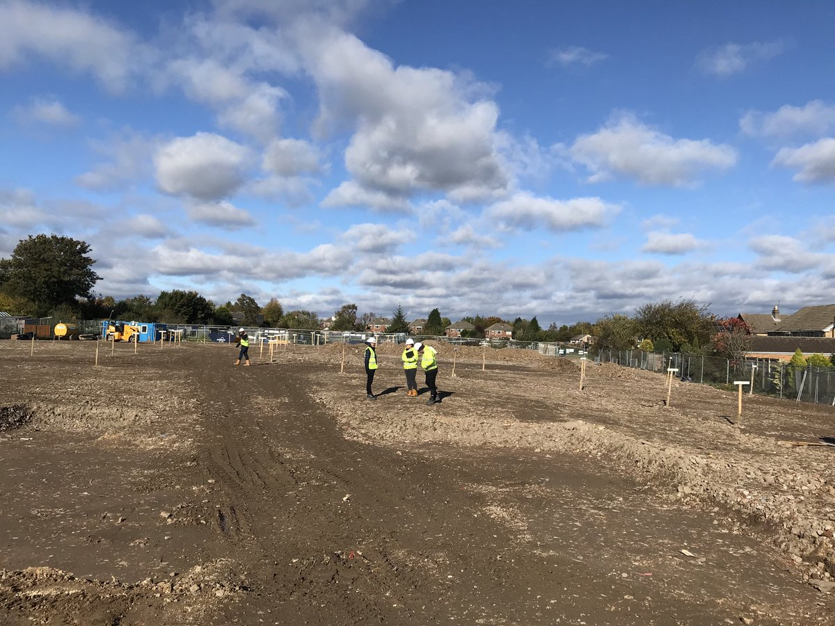 Our new @benbailey_homes site, The Halt nearly ready to start construction now