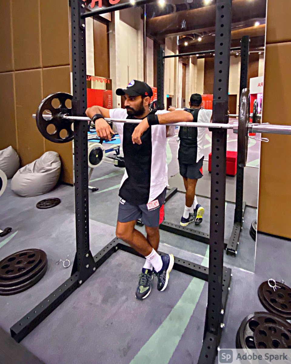 Getting fit is all about mind over matter. If you don't mind, it doesn't matter. #SaddaPunjab #mshami11
