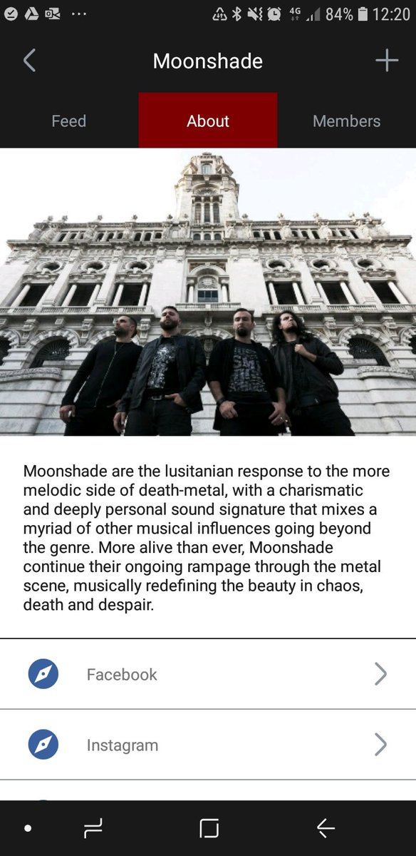MOONSHADE | MMXX  Wraiths,  Moonshade is officially on @bandbondtweets, an amazing app that is ideal for metal fans to follow their favourite artists on social media.   Join us.  You are expected.  #heavymetal #deathmetal #melodicdeathmetal #melodeath #bandbond #metalmusic https://t.co/KyYGUnZLNl
