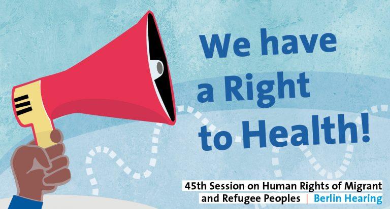 Allen Menschen muss Zugang zu Gesundheitsversorgung ermöglicht werden! #EntrechtungStoppen #equalhealth4all @PPT_Berlin