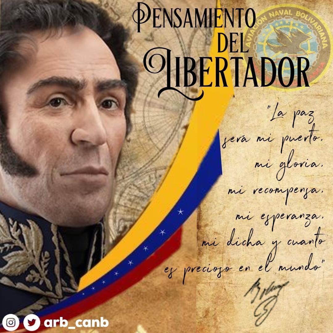 #PENSAMIENTO de Nuestro Libertador Simón Bolívar ¡Padre de la Patria Grande! #LealesSiempreTraidoresNunca @NicolasMaduro @vladimirpadrino @CeballosIchaso @libertad003 @ArmadaFANB @WMSP_2020 @mjgonzalezgomez @AB_DINAOP @COMREDIMAIN @venezuelaazul9 @josemurga_b @carabobozodic https://t.co/jLfx34iPWG