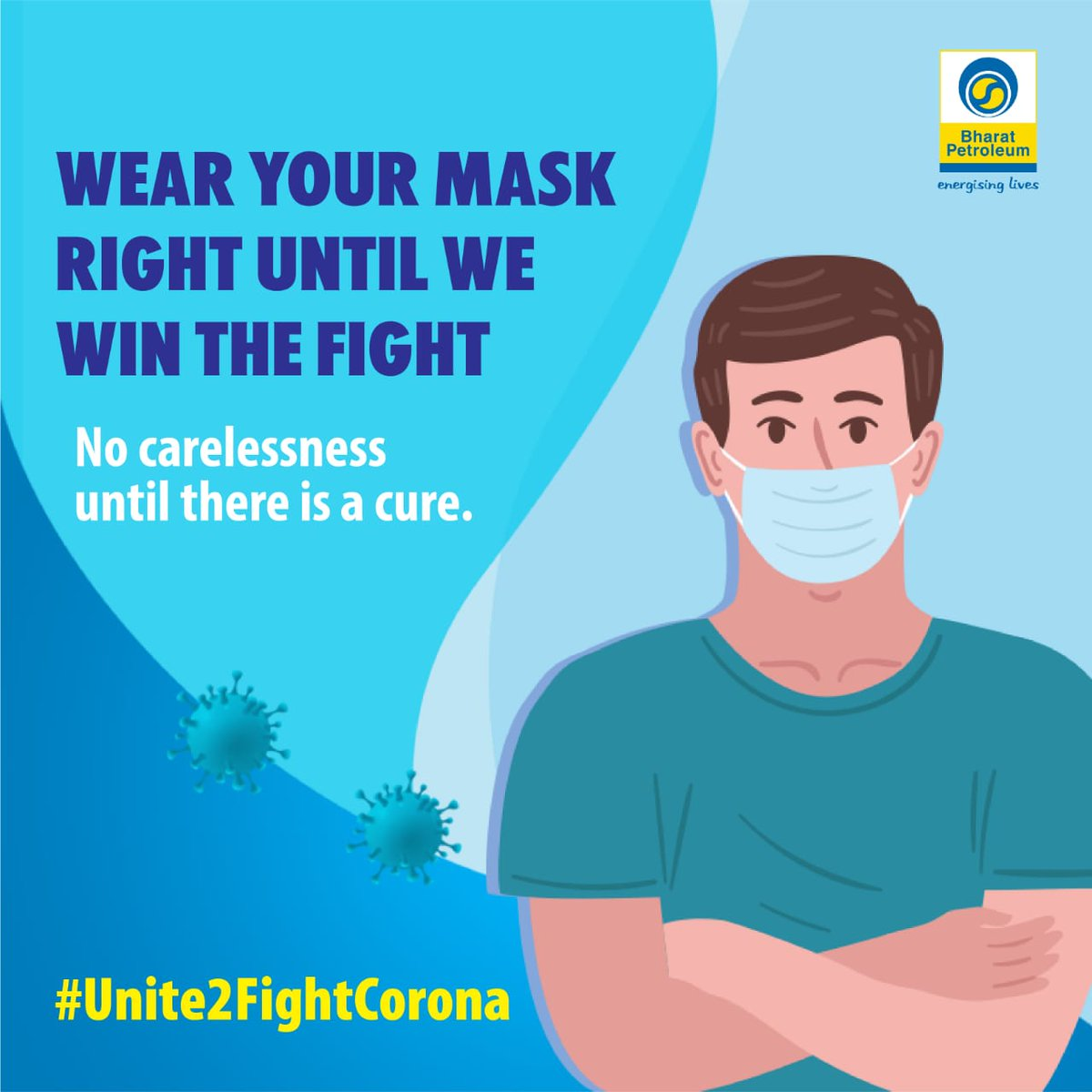 The fight is still on because Corona has not gone. So, keep your masks on to win the battle. #Unite2FightCorona #NoCarelessnessUntilThereIsACure https://t.co/7Vdu8q44SR